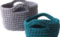 Cesto Organizador de Crochê – Material e Vídeo