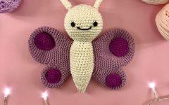 Amigurumi Borboleta Jane Crochê – Material e Receita