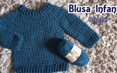 Blusa Infantil Hobby Crochê – Material e Vídeo