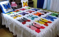 Colcha Borboleta Patchwork Crochê – Material e Vídeo