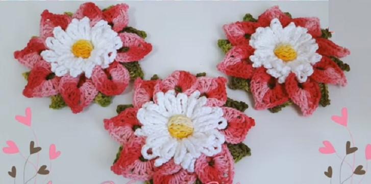 Flor do Cerrado Em Crochê – Material e Vídeo