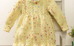 Vestido Amarelo Em Tricô – Material e Receita