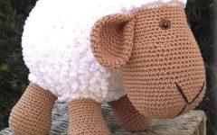 Amigurumi Ovelhinha de Crochê – Material e Vídeo
