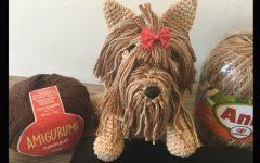 Amigurumi Yorkshire Luli Em Crochê – Material e Vídeo