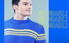 Blusa Masculina Copa do Mundo Tricô – Material e Receita