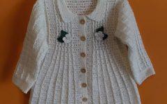 Casaco Infantil Em Crochê – Material e Vídeo