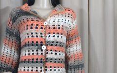 Jaqueta Fácil Em Crochê – Material e Vídeo