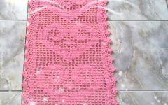 Tapete Simples Coração de Crochê – Material e Vídeo