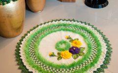Tapete Verdejante Em Crochê – Material e Receita