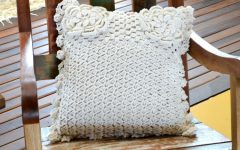 Almofada Flores Naturais Crochê – Material e Receita