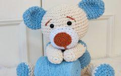 Amigurumi Ursinho Tobby Crochê – Material e Receita