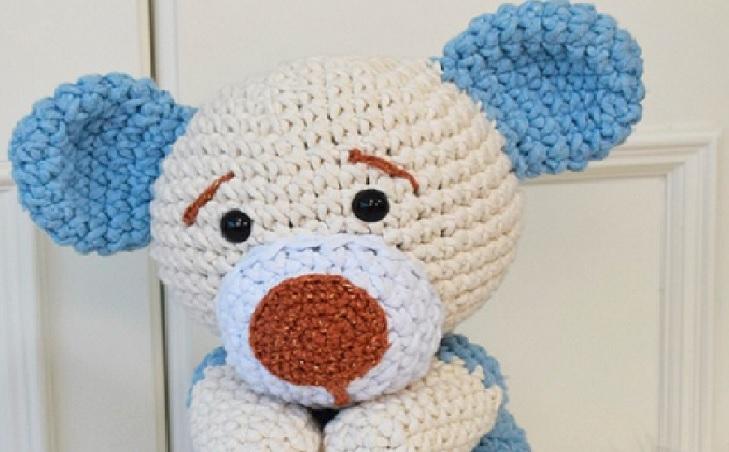 Amigurumi Receita Kit Urso E Raposa Gigante - R$ 20,00 em Mercado ...   452x729