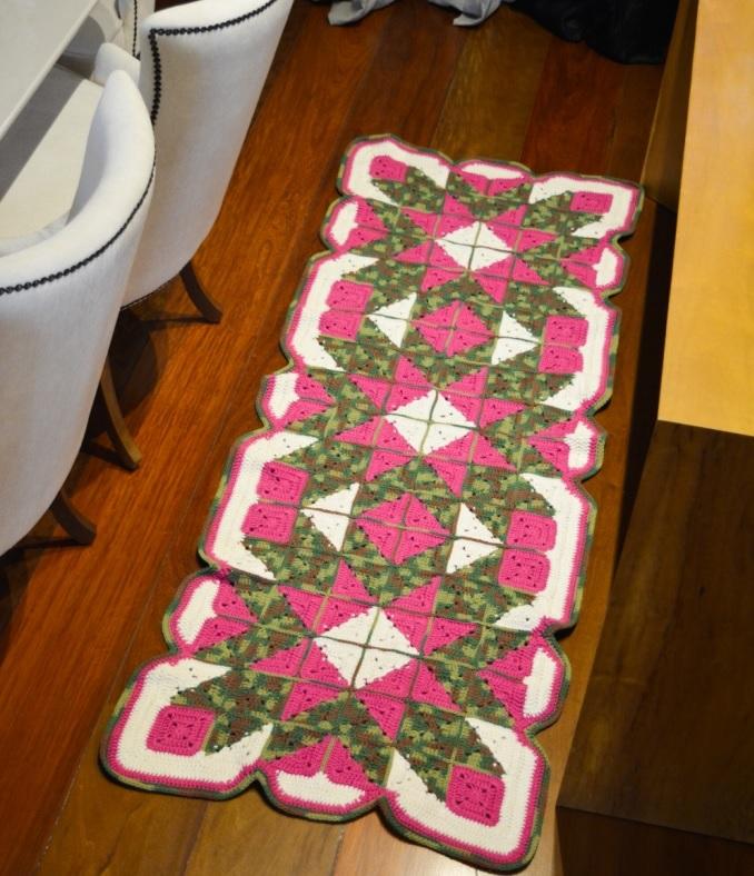 TapetePatchwork Em Crochê – Material e Receita