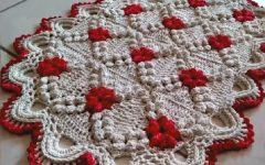 Tapete Square Ponto Pipoca Crochê – Material e Vídeo