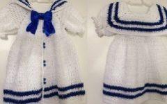 Vestidinho Anne Marinheiro Em Crochê – Material e Vídeo