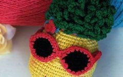 Amigurumi Abacaxi Cal Em Crochê – Material e Vídeo