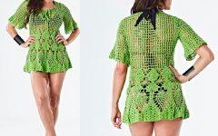 Bata Greenery Em Crochê – Material e Receita