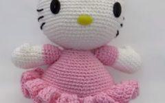 Boneca Hello KittyEm Crochê – Material e Vídeo
