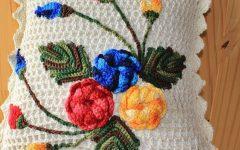 Capa de Almofada Jade de Crochê – Material e Vídeo