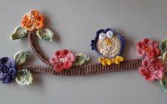 Coruja e Galho Para Aplicação Crochê – Material e Vídeo