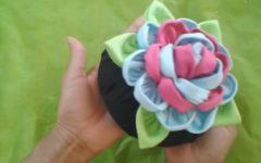 Peso de Porta Flor de Fuxico – Material e Vídeo