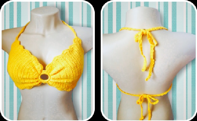 Top Amarelo Em Crochê – Material e Vídeo