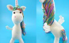 Amigurumi Unicórnio Jolly Em Crochê – Material e Receita