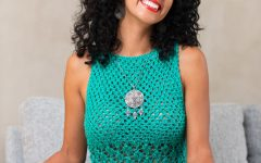 Blusa Verde Hobby Em Tricô – Material e Receita
