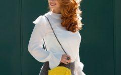 Bolsa Amarela Em Crochê – Material e Receita