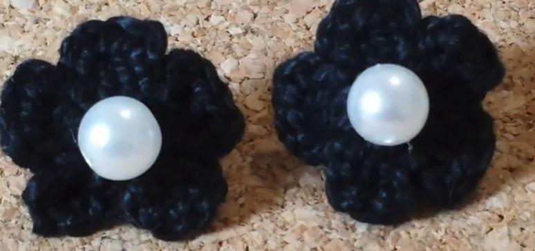 Brinco Com Pérola Em Crochê – Material e Vídeo