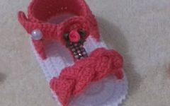 Sandália de Trança Bebê Em Crochê – Material e Vídeo