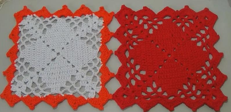 Square Quadrado Em Crochê – Material e Vídeo