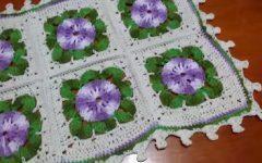 Tapete Primavera Em Crochê – Material e Vídeo