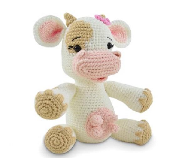 Amigurumi Vaquinha Sofi Em Crochê – Material e Receita