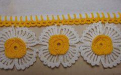 Barradinho Flores Em Crochê – Material e Vídeo