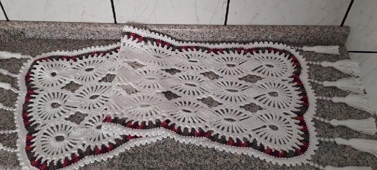 Caminho de Mesa Cristal Em Crochê – Material e Vídeo