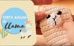 Porta Agulha Lhama Em Crochê – Material e Receita