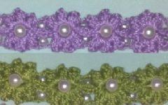 Pulseira Fofura Com Pérolas Em Crochê – Material e Vídeo