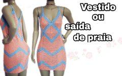 Vestido ou Saída de Praia Beth Crochê – Material e Vídeo