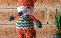Amigurumi Raposa Criaturinhas Em Crochê – Material e Receita