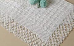 Manta Para Bebê Em Crochê e Tricô – Material e Receita