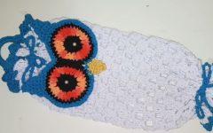 Puxa Saco Coruja Em Crochê – Material e Vídeo
