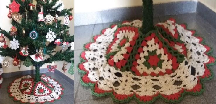 Tapete Saia Árvore de Natal– Material e Vídeo