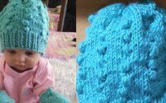 Touca Fofura Para Bebê Recém Nascido Tricô – Material, Receita e Vídeo