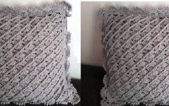 Almofada Chuvisco Em Crochê – Material e Vídeo