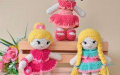 Amigurumi Bonecas Heloisa, Mia e Suzi Em Crochê – Material e Receita
