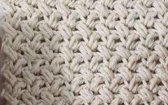 Ponto Simples Para Tapete Em Crochê – Material e Vídeo