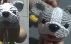 Amigurumi Esconde Chave Buldogue Em Crochê – Material e Vídeo