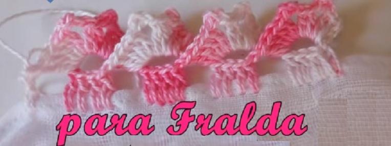 Bico Para Fralda Em Crochê – Material e Vídeo