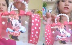 Bolsa Minnie Com Garrafa Pet – Material e Vídeo